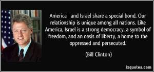 A quote from Bill Clinton