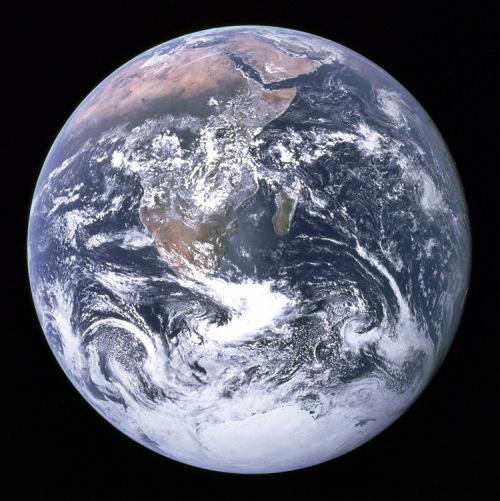 NASA BLue Marble 1972 from Apollo 17 small